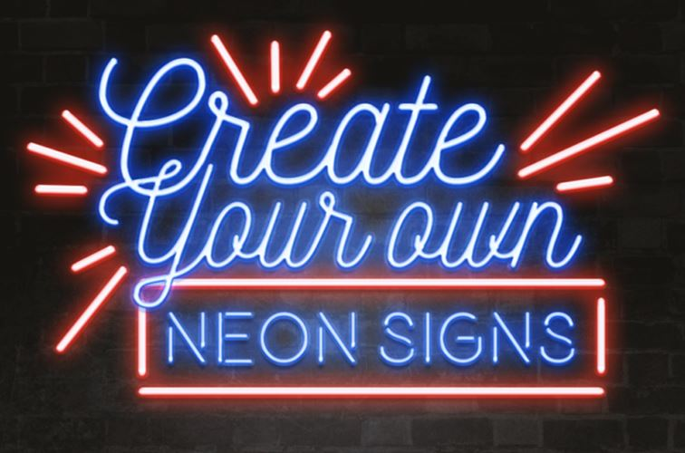 Neon  تابلو مغازه و بروز بودن